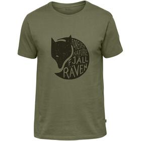 Fjällräven Forever Nature Camiseta Hombre, verde
